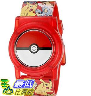 [8美國直購] 手錶 Pokemon Kids Digital Watch with Flashing LED Lights and Flip Open Top Model: POK4186AZ
