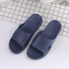 【333 家居鞋館】簡約主義 純色流線中性拖鞋-深藍
