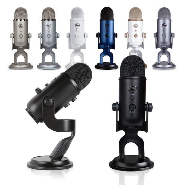 【WowLook】保26個月 Blue Yeti USB Microphone 專業型電容式 麥克風 爵士黑 午夜藍