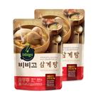 【分享餐優惠CJ 】bibigo蔘雞湯800gX2~加熱即時超便利