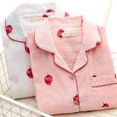 月子服夏季薄款純棉紗布產后哺乳衣孕婦睡衣春秋產婦喂奶家居服 全館免運