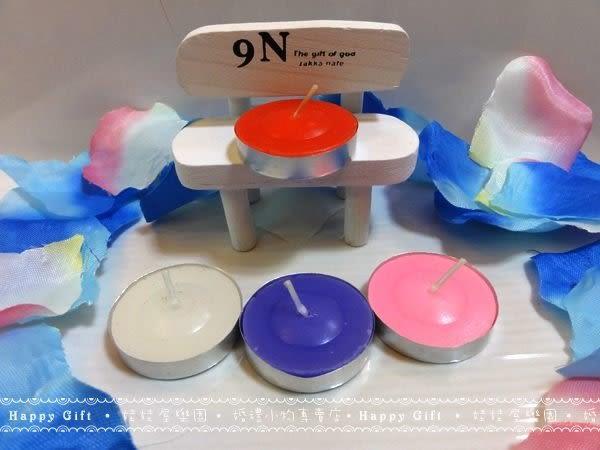 娃娃屋樂園~限量版蠟燭4色6入(含鋁殼) 每組15元/求婚佈置/婚禮小物/會場佈置/餐廳用/派對活動
