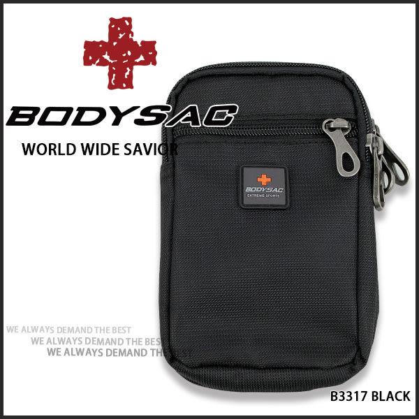 機能性  手機包 黑色 (5.5吋螢幕手機) AMINAH~【BODYSAC B3317】