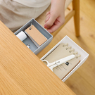 【BlueCat】桌面下 黏貼式 抽屜 收納盒 隱形抽屜