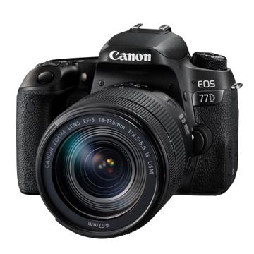 Canon EOS 77D 18-135mm 旅遊組