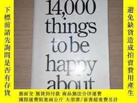 二手書博民逛書店(英文原版)14,000罕見thing s tobe happy