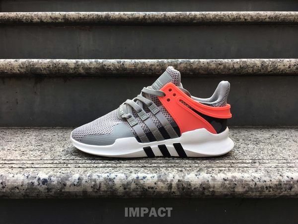 IMPACT Adidas EQT Support ADV 灰粉紅 編織 條紋 男女鞋 運動 慢跑 休閒鞋 BB2792
