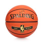 SPALDING NBA-Rubber 金色籃球 (7號球 室外 戶外 耐磨 斯伯丁 免運 ≡排汗專家≡