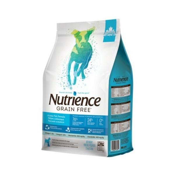 *KING*美國Nutrience紐崔斯/無穀養生犬/六種魚5kg