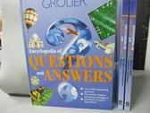 【書寶二手書T4/百科全書_RDV】Encyclopedia Of Questions And Answers_共3本合