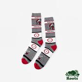 ROOTS配件- 冰上曲棍球高筒襪 (男)-紅色