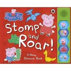 【粉紅豬小妹。聲音書】 PEPPA PIG STOMP AND ROAR! /聲音書