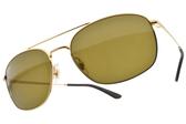 RayBan偏光太陽眼鏡 RB3654 00173 (金-棕綠鏡片) 時尚潮流雙槓款 # 金橘眼鏡
