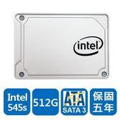 Intel 545s-SSDSC2KW512G8X1 512GB 2.5吋 固態硬碟