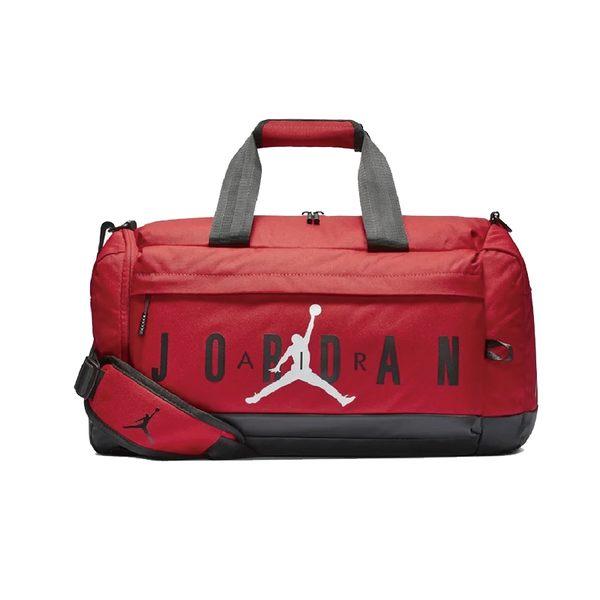 Nike Jordan 紅 手提包 旅行袋 健身側背包 休閒 運動 旅行 鞋袋 慢跑 旅行包 9A0168-R78