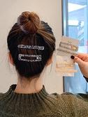 髮夾 網紅2021年新款后腦勺髪夾女頂夾髪卡一字夾卡子劉海頭髪夾子頭飾【快速出貨八折搶購】