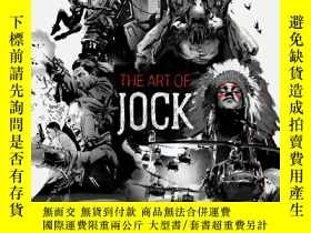 二手書博民逛書店The罕見Art of Jock 英文原版 Jock畫集 遊戲原