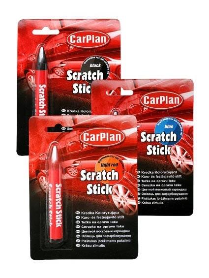 CarPlan卡派爾 Scratch Stick 蠟筆型補漆筆,修補深的刮痕,方便使用和保存!
