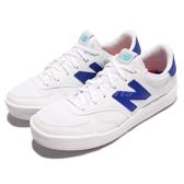 New Balance 休閒鞋 300 NB 白 藍 透氣網布 N字鞋 低筒 韓妞必備 女鞋【PUMP306】 WRT300CED