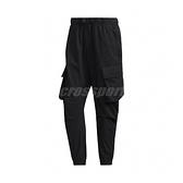 adidas 長褲 Cargo Pants 黑 男款 工裝 工作褲 縮口褲 運動休閒 【ACS】 GM4418