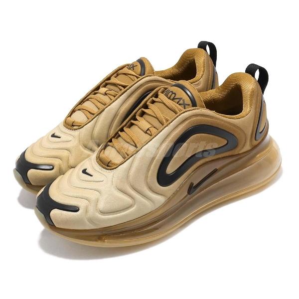Nike Wmns Air Max 720 Desert 慢跑鞋 咖啡 黑 大氣墊 運動鞋 女鞋【PUMP306】 AR9293-700