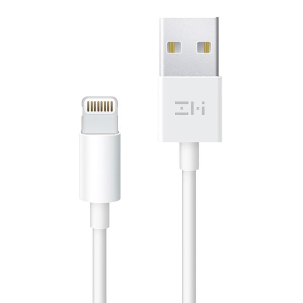 全新品 原廠 ZMI 紫米 小米 數據線 USB TO Lightning 傳輸充電線 (1M) AL812 傳輸線 iPhone X iPhone 8 Plus