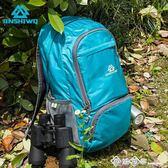 JINSHIWQ皮膚包超輕可折疊旅行包雙肩包戶外背包登山包輕便攜男女 西城故事