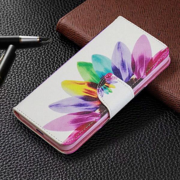 SONY Xperia 10 繽紛彩繪系列 手機皮套 插卡 支架 掀蓋殼 掛繩 磁扣 內軟殼 保護套 A68