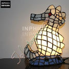 INPHIC-可愛萌海馬造型手工玻璃燈罩客廳茶几臥室床頭裝飾小夜燈造型燈造型夜燈_S2626C