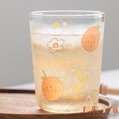 玻璃杯子喝水簡約可愛家用牛奶冷飲杯創意個性潮流【倪醬小舖】