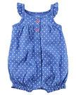 【美國Carter's】純棉連身衣- 波卡爾點點小螃蟹 #118G954