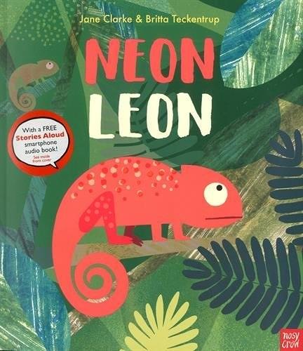 【麥克書店】NEON LEON /內附QR code 《主題:自我認同》 班級閱讀書單-中年級