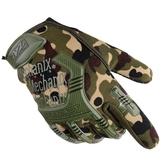 四季戶外防護騎行登山戰術賽車全指觸屏手套耐磨防滑搏斗訓練手套 ☸mousika