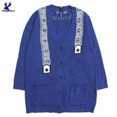【秋冬降價款】American Bluedeer - 皮尺設計針織外套(魅力價)  秋冬新款