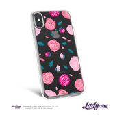 LadyCase i7/8/7+/8+/x 玫瑰透明手機殼 手機保護套 手機套【FuLee Shop 服利社】