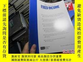 二手書博民逛書店the罕見journal of fixed income vol