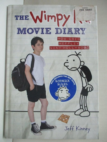 【書寶二手書T1/少年童書_IKH】The Wimpy Kid Movie Diary: How Greg Heffley Went…