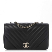 【雪曼國際精品】CHANEL CC FLAP BAG BLACK (黑A91587-BLACK)~全新品
