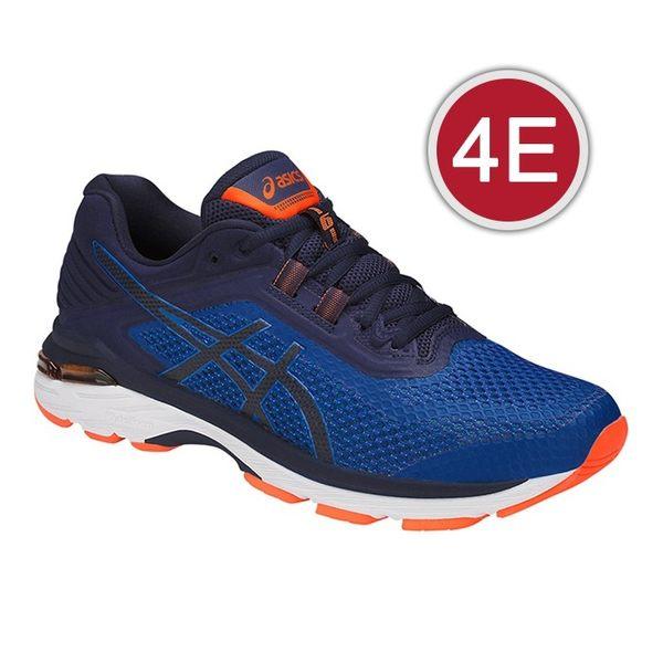 樂買網 ASICS 18SS 次頂 支撐型 慢跑鞋 GT-2000 6系列 4E超寬楦 T807N-4549 贈壓縮腿套