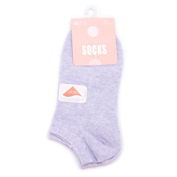 貝柔 萊卡麻花船襪 淺紫 HP5370 鞋全家福