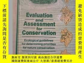 二手書博民逛書店Evaluation罕見and Assessment for Conservation (英文原版)Y2435