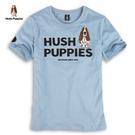 Hush Puppies T恤 男裝立體字母膠印側邊LOGO