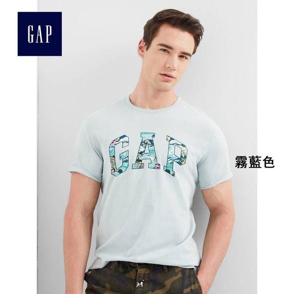 Gap男裝 LOGO柔軟短袖圓