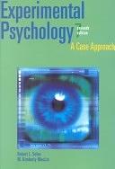 二手書博民逛書店 《Experimental Psychology: A Case Approach》 R2Y ISBN:0205319769│Allyn & Bacon