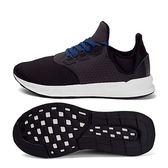 adidas Falcon Elite 5 M 男 黑 白 襪套鞋 慢跑鞋 BB4398