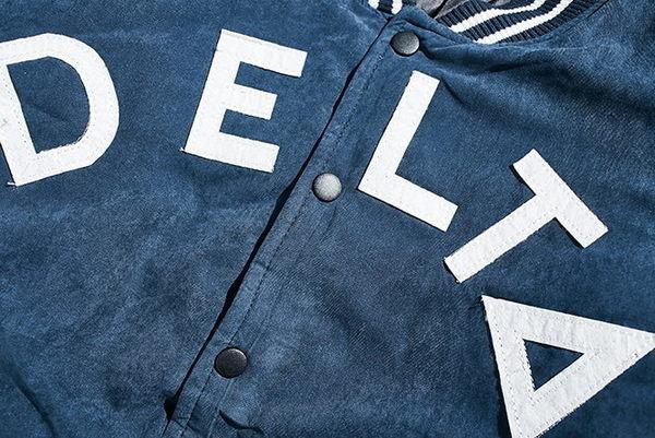 韓國 保暖 棒球外套 潮流 外套 星星 貼條 刺繡  ZETIC 牛仔藍 夾克 保暖 鋪棉 外套