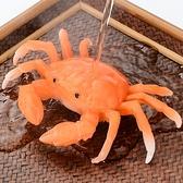 茶寵物茶具擺設裝飾品沖水變色螃蟹創意茶桌茶臺茶寶擺【聚寶屋】