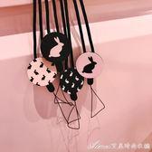 兔子卡通可愛掛繩掛飾繩子手機掛件個性通用女艾美時尚衣櫥