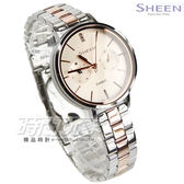 SHEEN SHE-3054SPG-4A 優雅智慧女神時尚女錶 玫瑰金電鍍x銀 防水手錶 SHE-3054SPG-4AUDR CASIO卡西歐