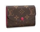 【雪曼國際精品】LOUIS VUITTON  LV  ROSALIE M41939 紫紅零錢包─全新現貨